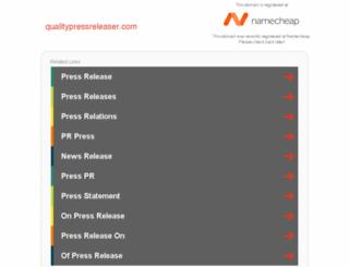 qualitypressreleaser.com screenshot