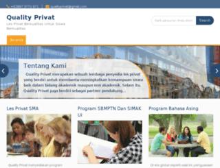 qualityprivat.com screenshot