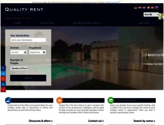 qualityrentdenia.com screenshot