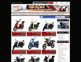 qualityscooters.co.uk screenshot