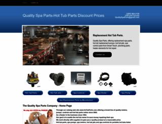 qualityspaparts.com screenshot