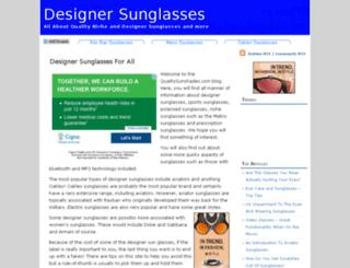 qualitysunshades.com screenshot