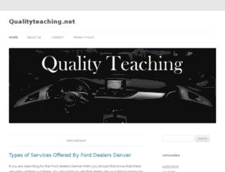 qualityteaching.net screenshot