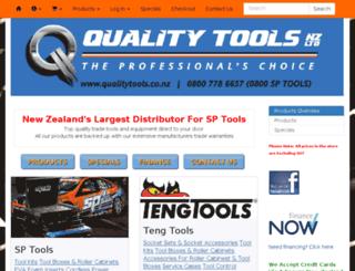 qualitytools.co.nz screenshot
