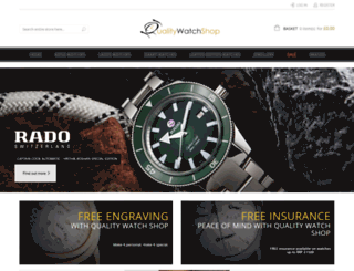 qualitywatchshop.com screenshot