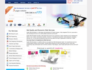 qualitywebdevelopers.com screenshot
