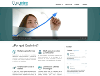 qualmind.com screenshot