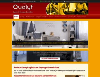 qualyfdomesticas.com.br screenshot