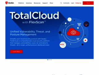 qualys.com screenshot