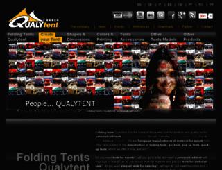 qualytent.com screenshot