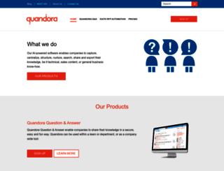 quandora.com screenshot