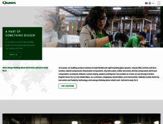 quanex.com screenshot