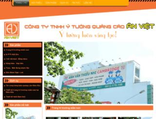 quangcaoanviet.dos.vn screenshot