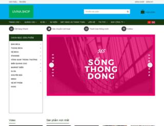 quangcaolivina.com screenshot