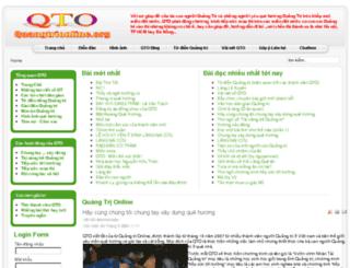 quangtrionline.org screenshot