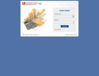 quanly.ketoanvn.com.vn screenshot