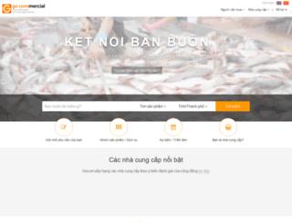 quanlyweb.gocom.vn screenshot