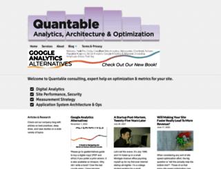 quantable.com screenshot