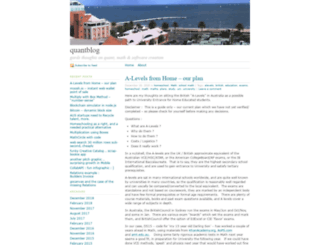 quantblog.wordpress.com screenshot