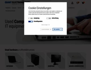 quantelectronic.de screenshot