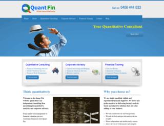 quantfin.com.au screenshot