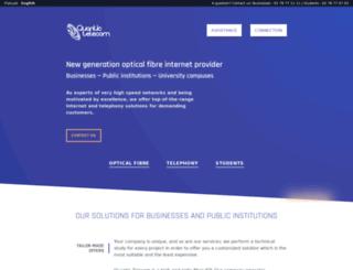 quantic-telecom.net screenshot