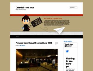 quantol.wordpress.com screenshot