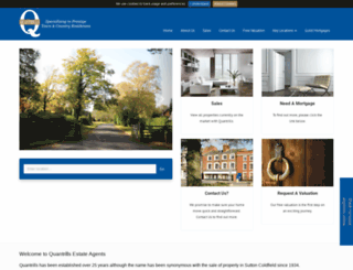 quantrills.co.uk screenshot