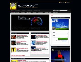 quantum-self.com screenshot