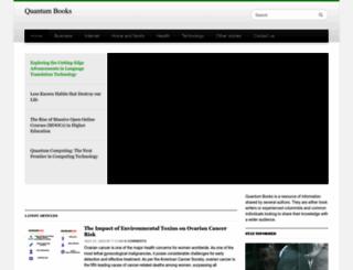 quantumbooks.com screenshot