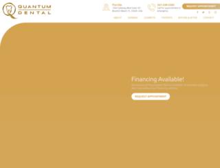 quantumdentalflorida.com screenshot
