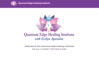 quantumedgehealinginstitute.com screenshot