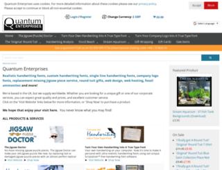 quantumenterprises.co.uk screenshot