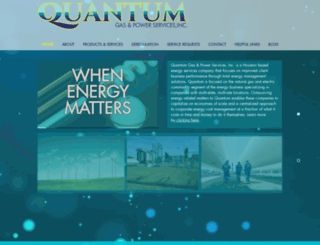 quantumgas.com screenshot