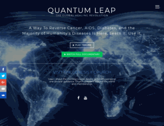 quantumleap.is screenshot