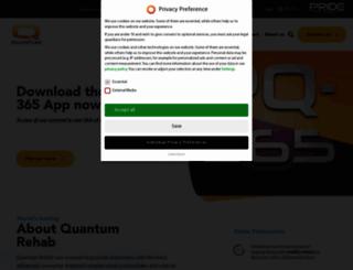 quantumrehab.co.uk screenshot