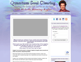 quantumsoulclearing.com screenshot