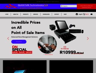 quantumtech.co.za screenshot
