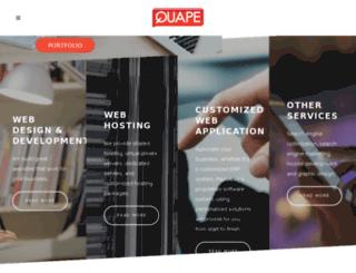 quape.com.sg screenshot