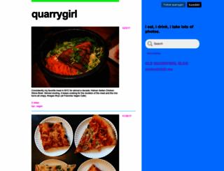 quarrygirl.com screenshot