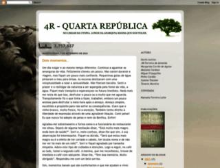 quartarepublica.blogspot.pt screenshot