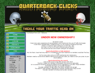 quarterbackclicks.com screenshot