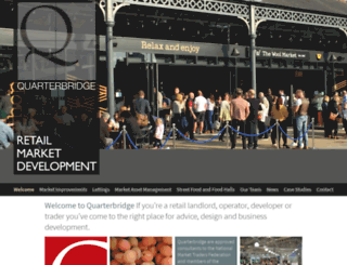 quarterbridge.co.uk screenshot