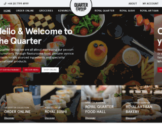 quartergroup.co.uk screenshot