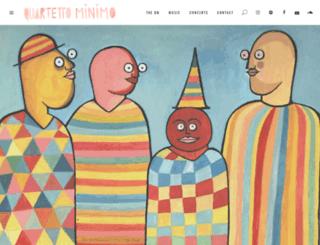 quartettominimo.com screenshot