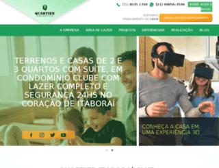 quartieritaboraiclub.com.br screenshot