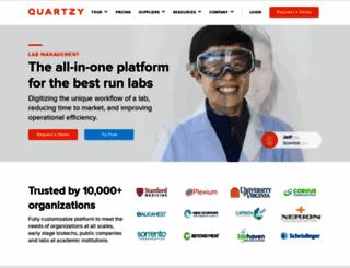 quartzy.com screenshot