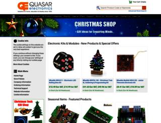 quasarelectronics.com screenshot