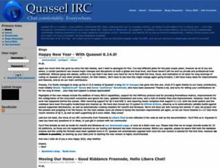 quassel-irc.org screenshot