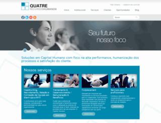 quatre.com.br screenshot
